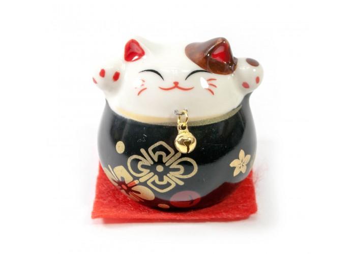 Кішка Манэки Неко (5х5х5 см) чорна ЗП-30831