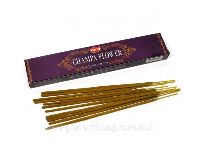 Champa Flower 15 Gms (Квітка Чампы)(Hem) пыльцовое пахощі ЗП-31205K