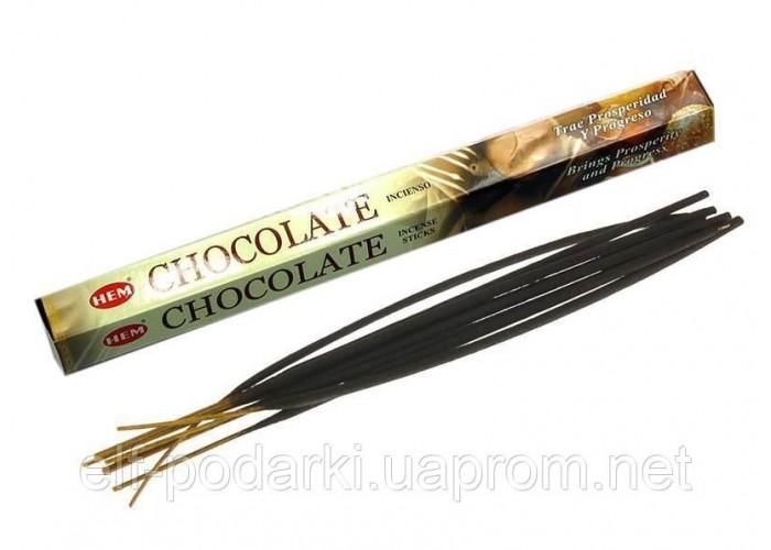 Chocolate (Шоколад) (Hem)(6/уп) шестигранник ЗП-27684K