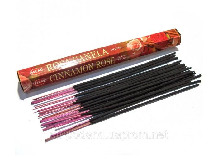 Cinnamon Rose (Кориця і Троянда)(Hem)(6/уп) шестигранник ЗП-27623K