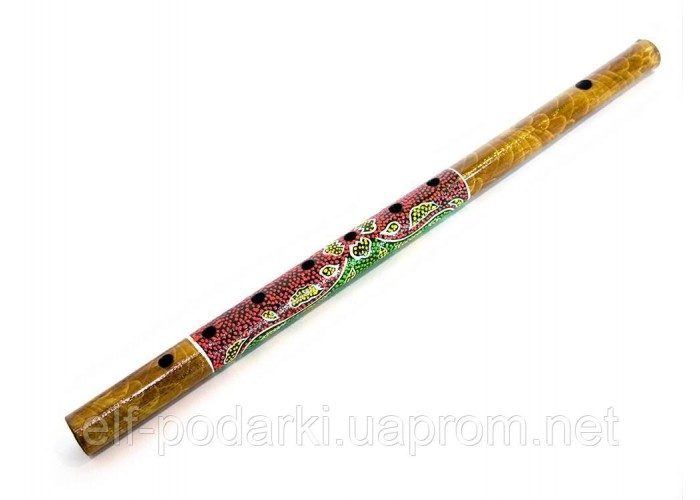 Бамбукова Флейта з малюнком d-2,5 h-40,5 см (24250)