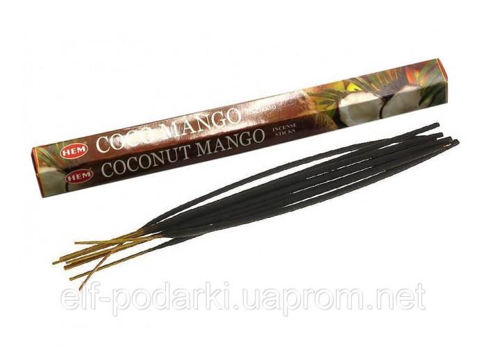 Coconut Mango (Кокос і Манго)(Hem)(6/уп) шестигранник ЗП-27479K