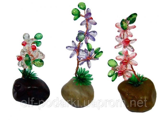 Квітка в камені (8,5х4,5х3,5 см)(2 шт/уп) ЗП-29136