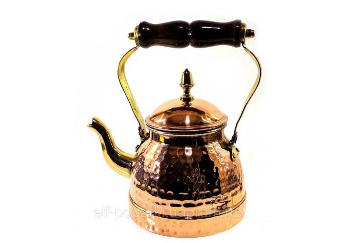 Мідний Чайник (1 літр) (23х20х15 см)