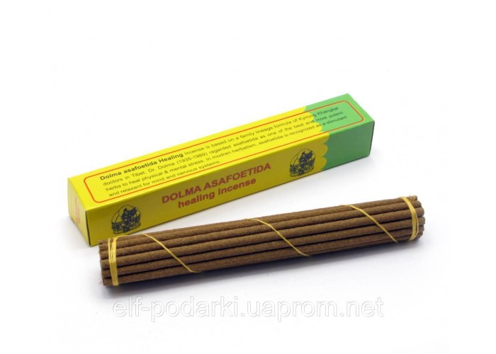 Dr.Dolma Asafetida incense (Тибетське пахощі) ЗП-27541K
