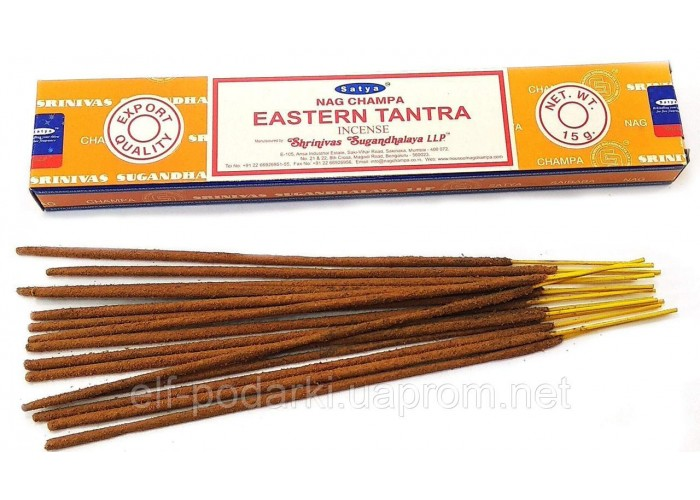 Eastern Tantra (Східна Тантра)(15 gms) (12/уп) (Satya) Масала пахощі ЗП-32490