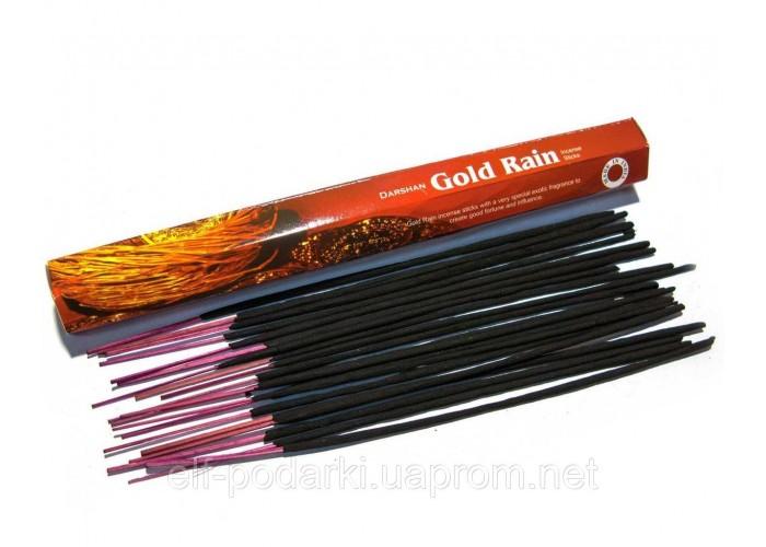 Gold Rain (Золотий Дощ)(Darshan)(6/уп) шестигранник ЗП-45021D