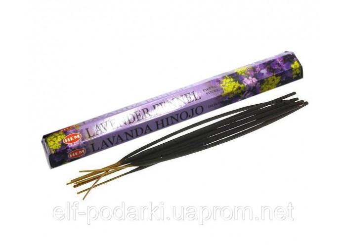 Lavender Fennel (Лаванда і Фенхель)(Hem)(6/уп) шестигранник ЗП-27624K