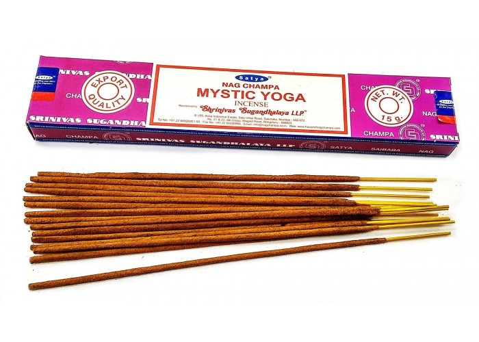 Mistic Yoga (Містична Йога)(15 gms) (12/уп) (Satya) Масала пахощі ЗП-32495