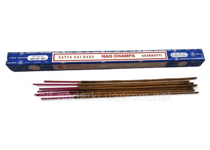 Nagchampa (Нагчампа)(10 грм.) (Satya)(25 шт/уп) масала пахощі ЗП-32445