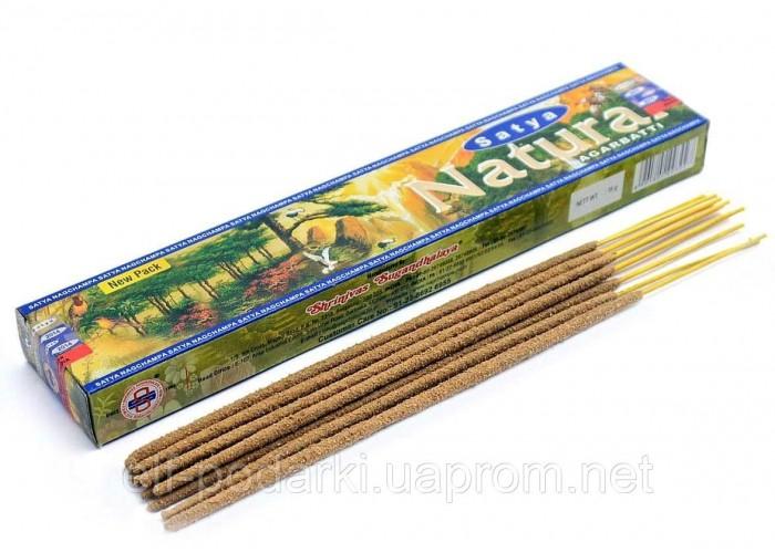 Natural (Природа)(15 gms.) (12/уп) (Satya) пыльцовое пахощі ЗП-20440K