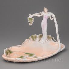 "Блюдо ""Дівчина в листках"" (28 см) Veronese"