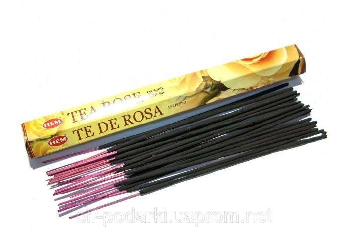 Tea Rose (Чайна Троянда)(Hem)(6/уп) шестигранник ЗП-27622K