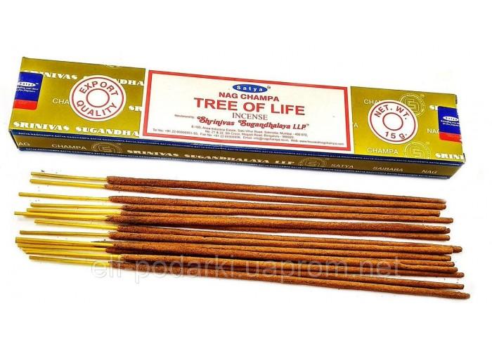 Tree of Life (Дерево Життя)(15 gms) (12/уп) (Satya) Масала пахощі ЗП-32496