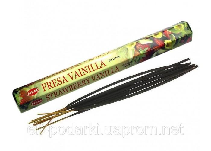 Vanilla Strawberry (Ваніль, Полуниця)(Hem)(6/уп) шестигранник ЗП-28155K
