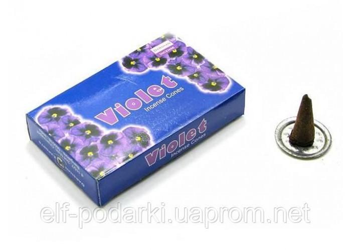 Violet (Фіалка)(Darshan)(12/уп) конуси ЗП-23254D