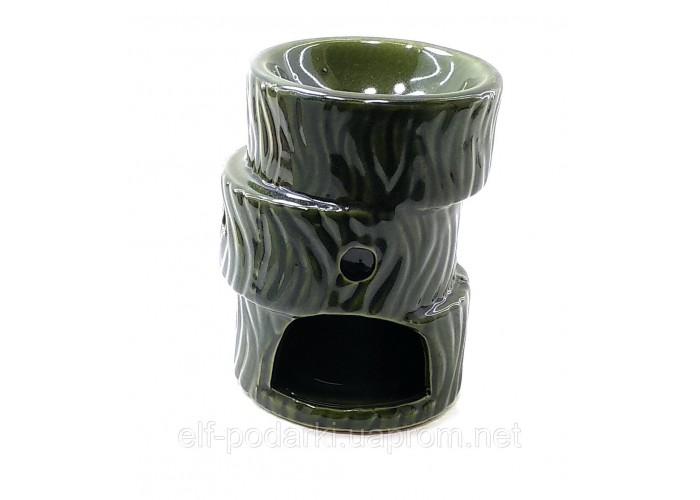 """Аромалампа """"Зигзаг"""" зелена (10,5х7.5х7.5см) ЗП-26356A"""