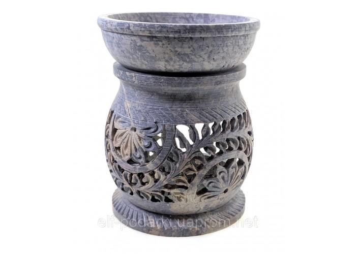 Аромалампа з мильного каменю (11,5х9х9 см)