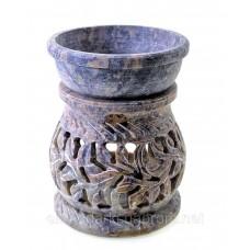 Аромалампа з мильного каменю (8,2х6,5х6,5 см) ЗП-5503