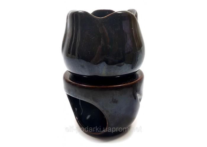 """Аромалампа керамічна """"Квітка"""" (8,5х8,5х12 см) ЗП-32021"""