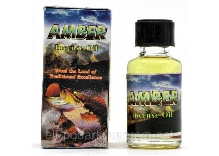 """Ароматичне масло """"Amber"""" (8 мл)(Індія) ЗП-20492"""