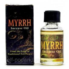"""Ароматическое масло """"Myrrh"""" (8 мл)(Индия)"""