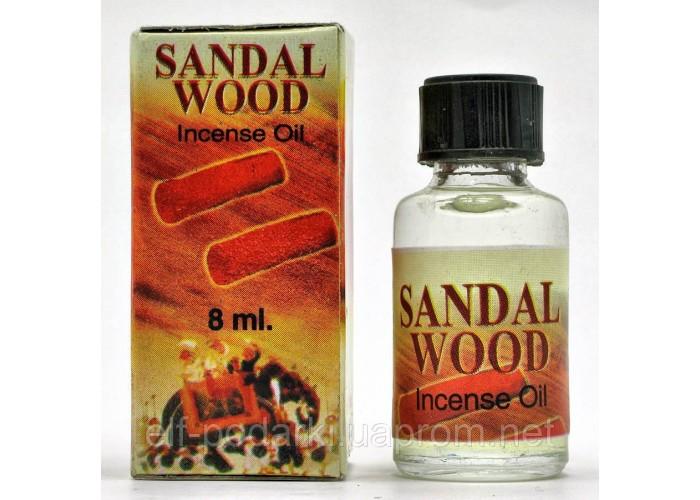 """Ароматичне масло """"Sandal Wood"""" (8 мл)(Індія) ЗП-20448"""