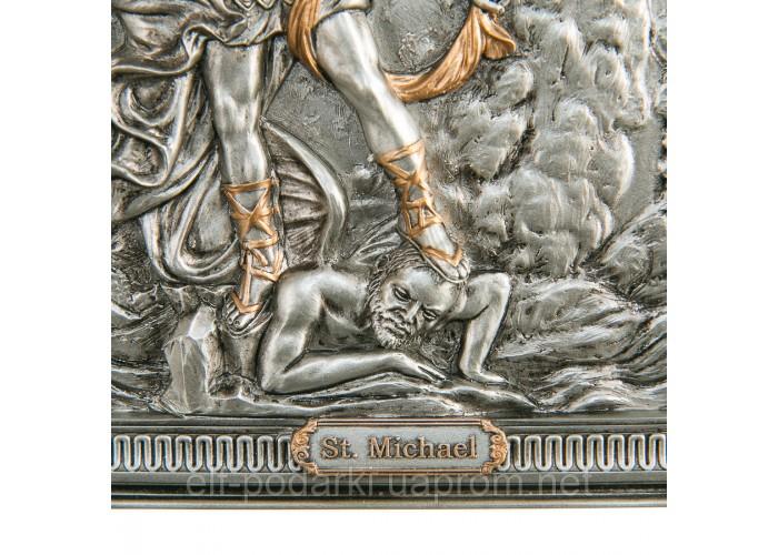 Картина срібло Архангел Михаїл (23,5 см)